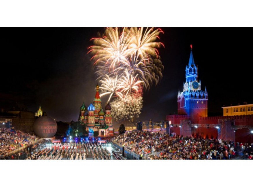 Поздравляем москвичей и гостей столицы в прошедшим Днем Города!